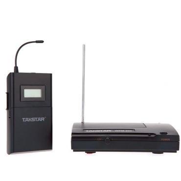 Takstar 200 WPM UHF ワイヤレス モニター システム 50 m 伝送距離のインイヤー式ヘッドフォン ステレオ