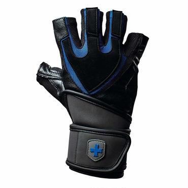 Harbinger Pro リストラップ トレーニンググローブ Tech Gel-Padded Leather Palm