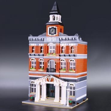 クリエイター タウンホール レゴ互換ブロック Lepin