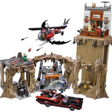 レゴ互換ブロック スーパー ヒーローズ バットマン クラシック バットケイブ LEPIN社 07053
