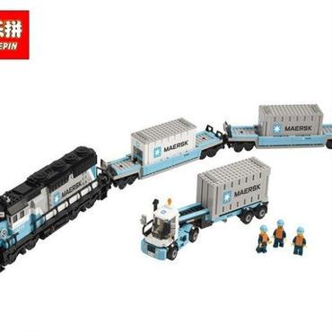 クリエイターシリーズ マースクトレイン  LEGO互換ブロック Lepin社