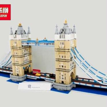 LEPIN ロンドンタワーブリッジモデル 10214 レゴ互換品 クリエイターエキスパート