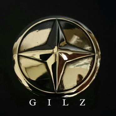 GILZシルバーコンチョ(素地)