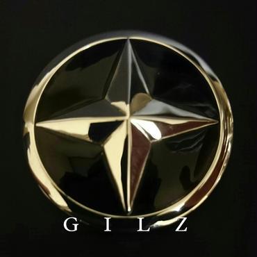 GILZシルバーコンチョ(黒)