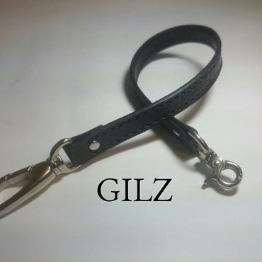 GILZウォレットコード(黒×黒)