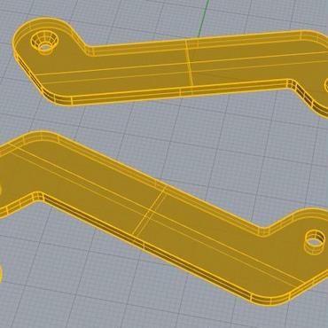 3Dデータ 鍵ホルダー 十得くん