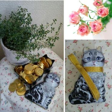 猫型ブリキ小物入れ☆猫型ボックス☆((ΦωΦ))3種類【送料無料】