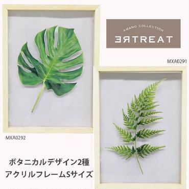 ボタニカルアートフレーム☆アクリルパネル☆Sサイズ☆代引き不可・沖縄、離島は追加500円☆問屋直送品です。