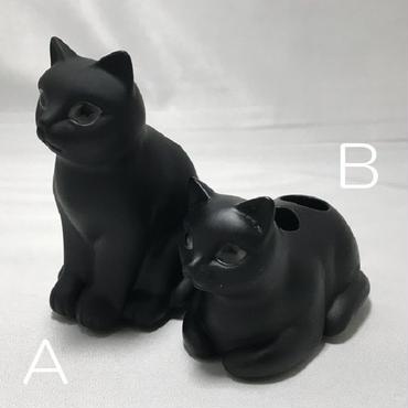 猫歯ブラシスタンド(ポリレジン製)☆問屋直送品です。