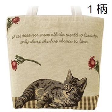 猫ゴブランバッグ