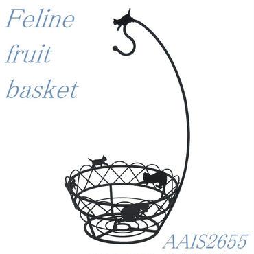 ネコフルーツバスケット☆問屋直送品です。