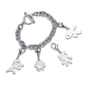 Silhouette Charm Bracelet