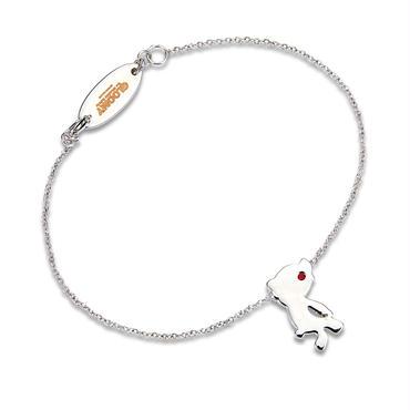 Silhouette Bracelet/RHODIUM