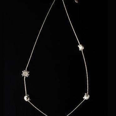 Necklace/RHODIUM