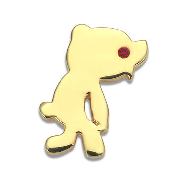 Silhouette Pin Broach/GOLD