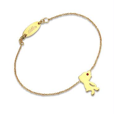 Silhouette Bracelet/GOLD
