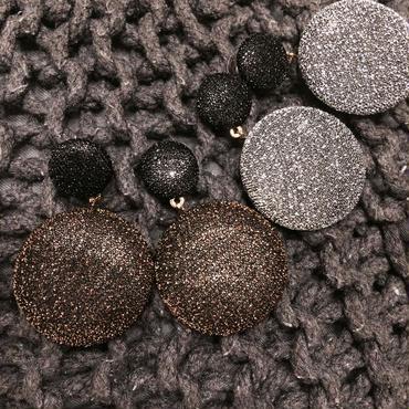 【Glitter knit】ピアス&イヤリング