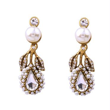 【Antique style pearl】ピアス