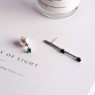 【Green jewel】ピアス