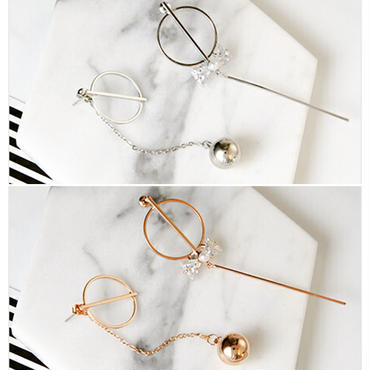 【Asymmetry ribbon】ピアス