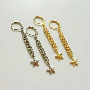 ★『star chain』ピアス(イヤリング)