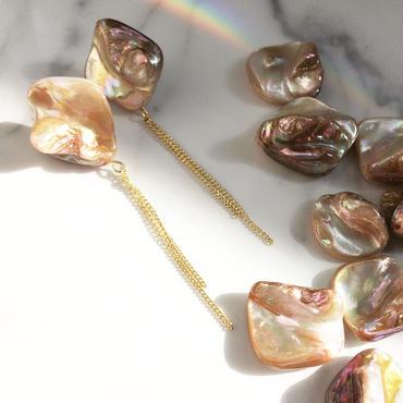 【Shell beads】ピアス&イヤリング