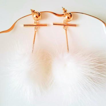【Swaying fur】ピアス&イヤリング