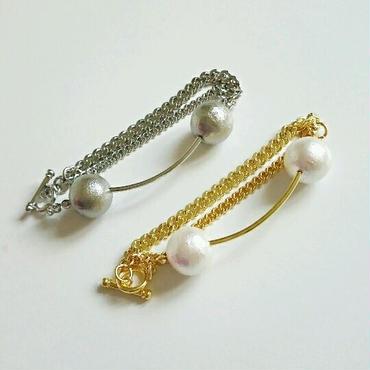 『pearl bridge』ブレスレット