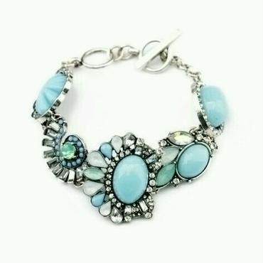 『sparkling turquoise』ブレスレット