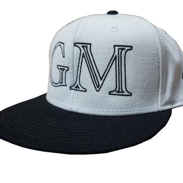 Logo-Snap Back Cap White & Black