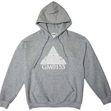 Triangle Logo-Hoodie Gray