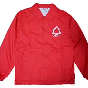 Logo-Coach Jacket Red