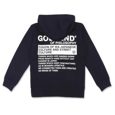 GSD  LAT35  HOODIE  3COLORS  NAVY