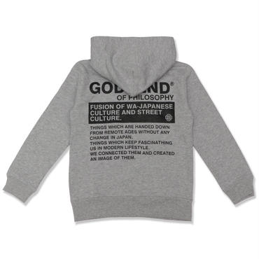 GSD  LAT35  HOODIE  3COLORS  GRAY