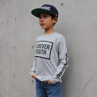 FOREVER YOUTH  L/S TEE フォーエヴァーユース ロンT