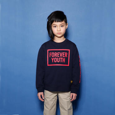 FOEVER  YOUTH  SWEAT  P/O  フォーエバーユース  スウェット  NAVY