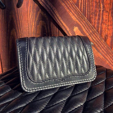 BACK DROP Leathers / DIA  WALLET (S)