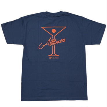 Alltimers League Player T  Harbour Blue / Orange