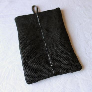 麻の手織りなべつかみ / クウプノオト