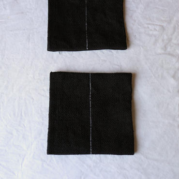 麻の手織りコースター / クウプノオト
