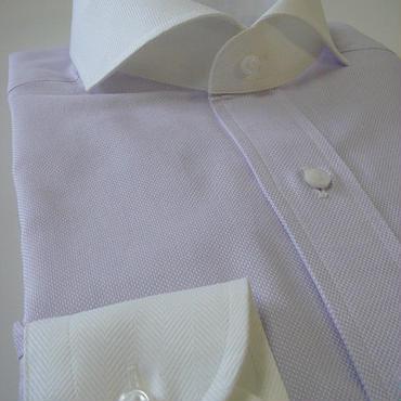 【受注生産】〔JAPAN縫製〕カッタウェイ・クレリックカラーメンズシャツ(上質綿100%)