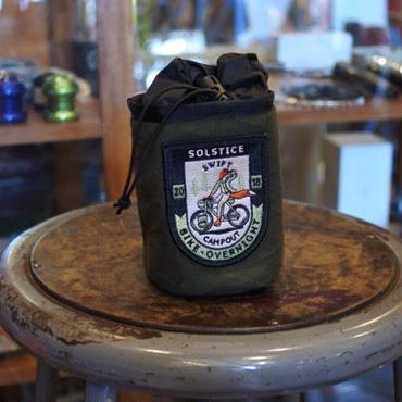 """SWIFT INDUSTRIES """"campout 2018 side kick pouch"""""""