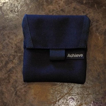 """Achieve Original """"coin case"""" ブラック"""