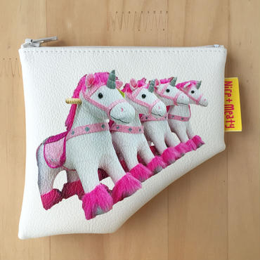 Mini pouch - Unicorns