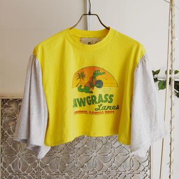 50%OFF!!!Yan na Maury flared sleeve T 【sawgrass】