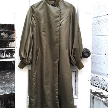 【予約商品】SHIROMA 18-19A/W CHURCH puff sleeve ma-1 coat