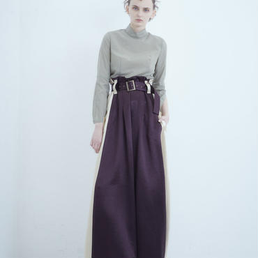 SHIROMA 18-19A/W CHURCH suka pants