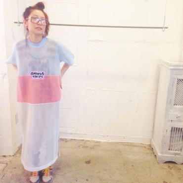 SOMEWHERE NOWHERE HONEYCOMB MAXI DRESS