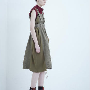【予約商品】SHIROMA 18-19A/W CHURCH buckle ma-1 dress