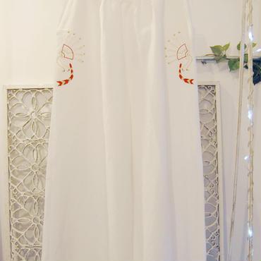 BANSAN auspicious pants -white-